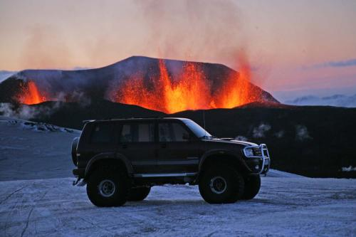 Eruption photos from Iceland