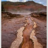 Colors of Geysir geothermal field